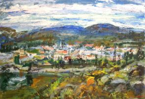 Gerhard Batha; Village in the Hills