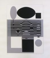 Victor Vasarely; Geometric Abstract