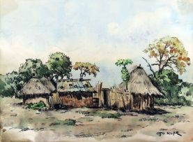 Otto Klar; Rural Huts