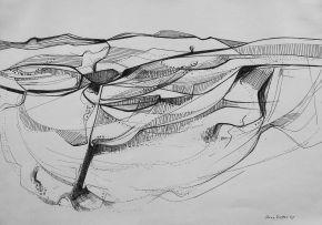 Anna Vorster; Desert Scene