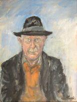 Enslin du Plessis; Self Portrait