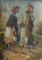 Frederick Timpson I'Ons; Two Xhosa Water Carriers