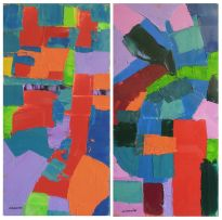 Trevor Coleman; Abstract Compositions, a pair