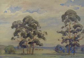 Erich Mayer; Tree Study