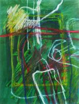 Fred Schimmel; Abstract Composition 0550