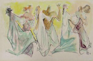 Ernest Ullmann; Dancing Couples