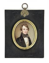 *A young Gentleman, attributed to Noel N Carter, British (fl. 1823 - 1833)