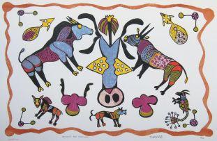 Thamae Kase; Gemsbok and Creatures