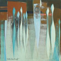 Bettie Cilliers-Barnard; Figures at a Gathering