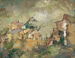 Gregoire Boonzaier; Stormy Skies, Cape