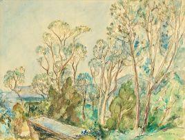 Maud Sumner; Kirstenbosch Landscape with Trees