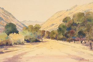 Jacob Hendrik Pierneef; Valley Landscape