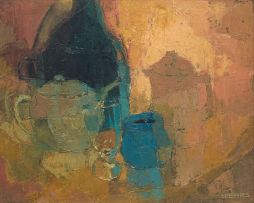 Frank Spears; Still Life with Tea Pot