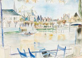 Maud Sumner; Beside the River Seine