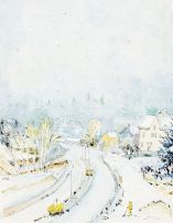 Maud Sumner; A Winter's Day