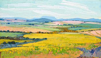 Piet van Heerden; Spring Landscape