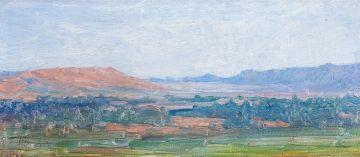 Jacob Hendrik Pierneef; Sketch near Pretoria