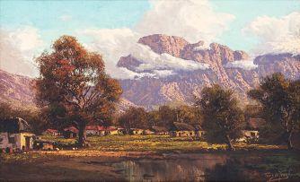 Tinus de Jongh; Kirstenbosch Cottages