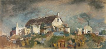 Gregoire Boonzaier; Thatched Cottage