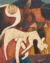 Lucky Sibiya; Lion and Hunter