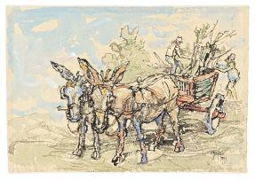 Gregoire Boonzaier; Donkey Cart