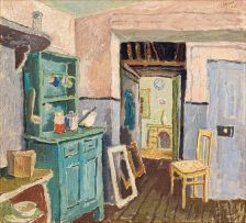 Gregoire Boonzaier; Cottage Kitchen
