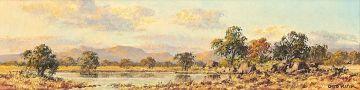 Otto Klar; Bushveld Watering Hole