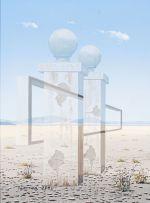 Martin Layton; Pillars in the Desert