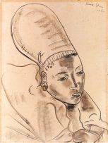 Irma Stern; Watussi Woman