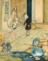 William Timlin; Presenting the Fairy King with Gifts on Mars