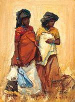 Titta Fasciotti; Two Xhosa Maidens