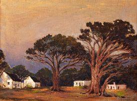 Nita Spilhaus; Cottages under Stone Pines