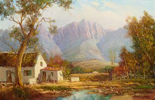 Gabriel de Jongh; Riverside Cottage