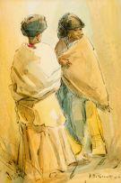 Titta Fasciotti; Two Swazi Maidens
