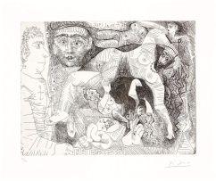 Pablo Picasso; Rêve de Marin: Des femmes dans chaque port