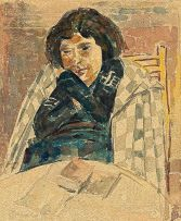 Wolf Kibel; Woman Reading