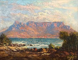 Tinus de Jongh; Table Bay