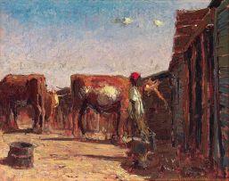 Adriaan Boshoff; Feeding the Cattle