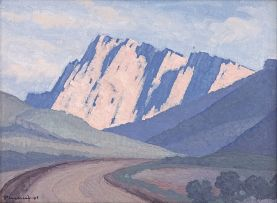 Jacob Hendrik Pierneef; Mountain Pass