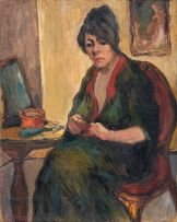 Alexander Rose-Innes; Pensive Woman