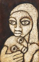 Lucas Sithole; Mother and Child (LS6711)