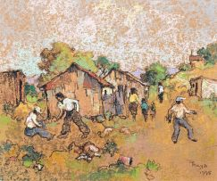 Conrad Theys; Figures and Houses