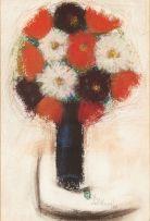 Pieter van der Westhuizen; Still Life of Flowers
