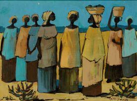 Jan Dingemans; Eight Women