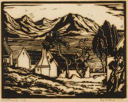 Jacob Hendrik Pierneef; Huis en Berge (Nilant 11)