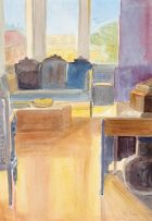Leonora Everard-Haden; Magg's Sitting Room, 1983