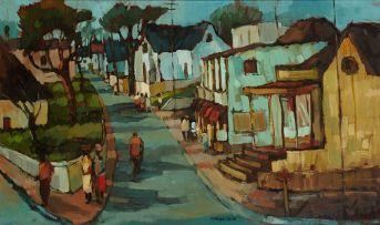 Kobus Louw; Street Scene