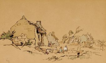 Gregoire Boonzaier; Figures and Cottages