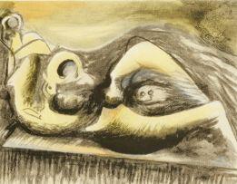 Henry Moore; Reclining Figure