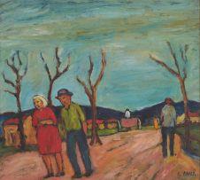 Kenneth Baker; A Stroll Down the Street